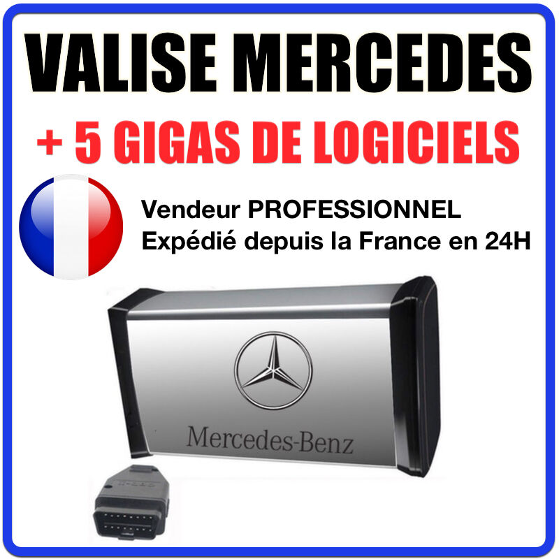 maxiecu 2 mpm com valise diagnostic mercedes benz. Black Bedroom Furniture Sets. Home Design Ideas