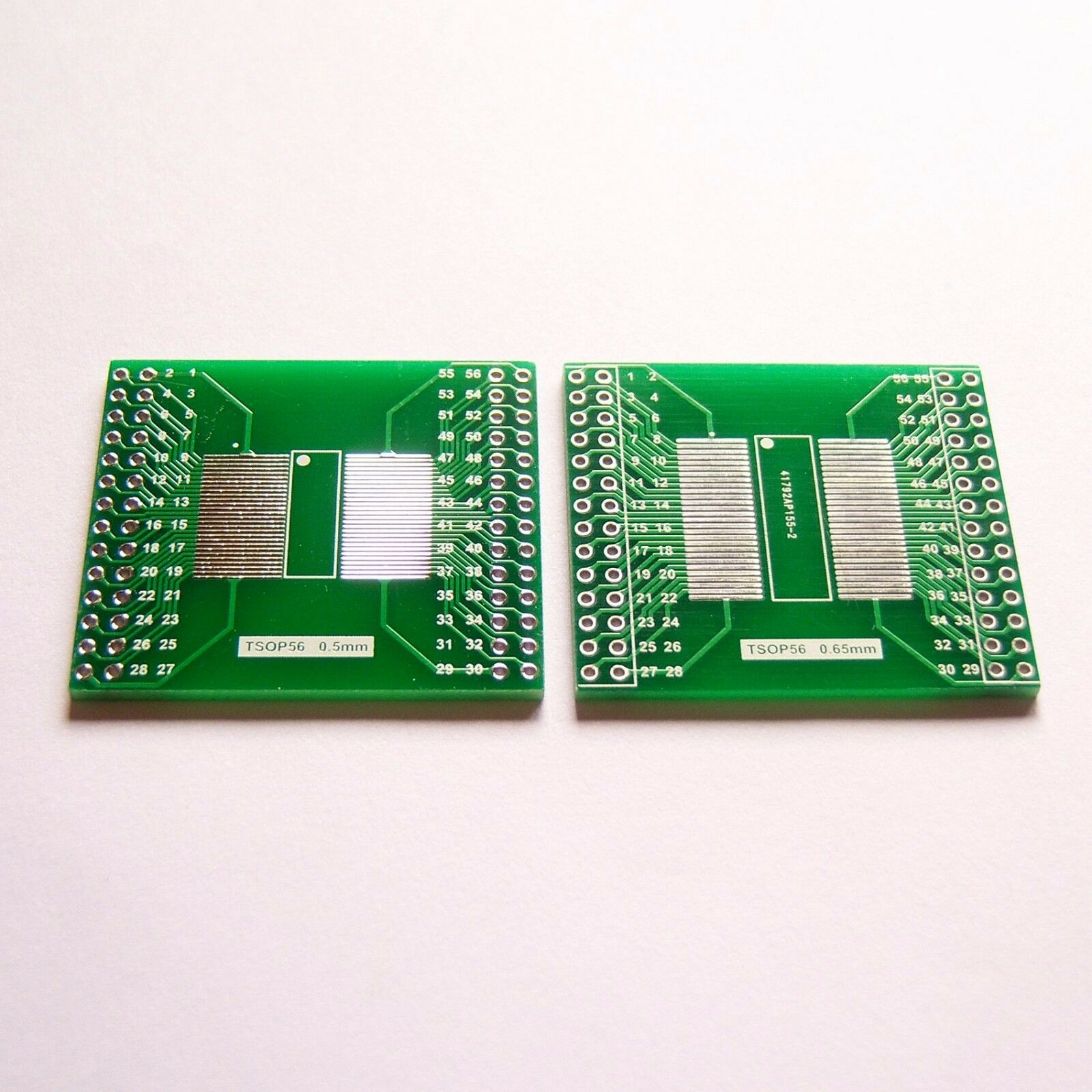 2 Pcs Tsop56 Pin Pitch 065 05mm To Dip 254mm Adapter Pcb Board Circuit Diy Breadboard 830 Point 65pcs Jumper Wire Kit Set Yc 1 Of 5only 4 Available
