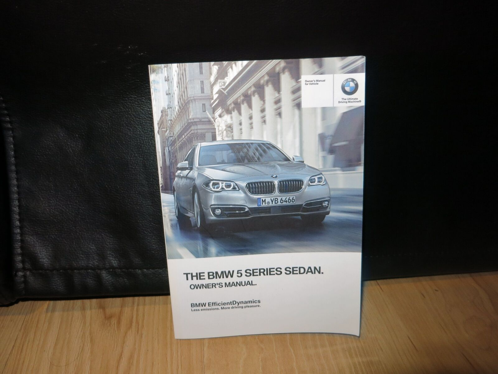 2016 Bmw 5 Series Sedan Owners Manual Book ( Oem )