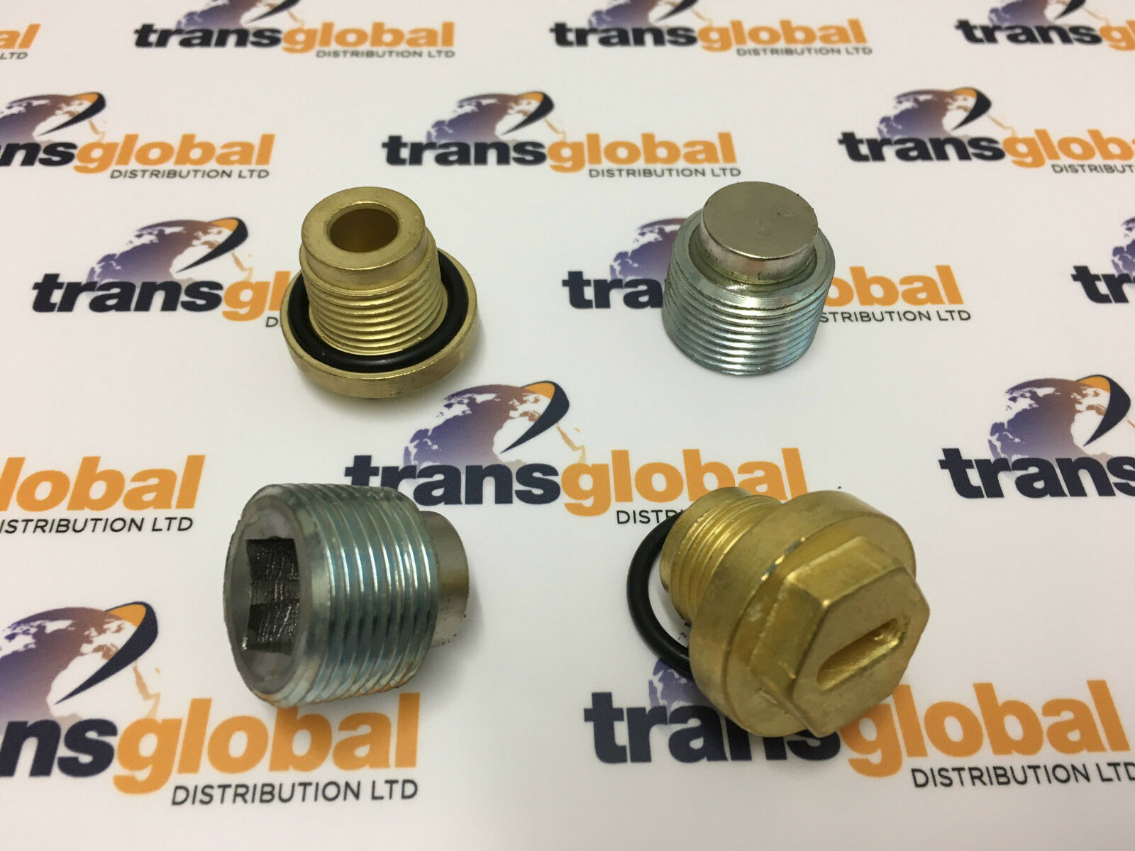 LAND ROVER DISCOVERY 2 Differential Filler & Drain Plugs 2 Axle Set ...