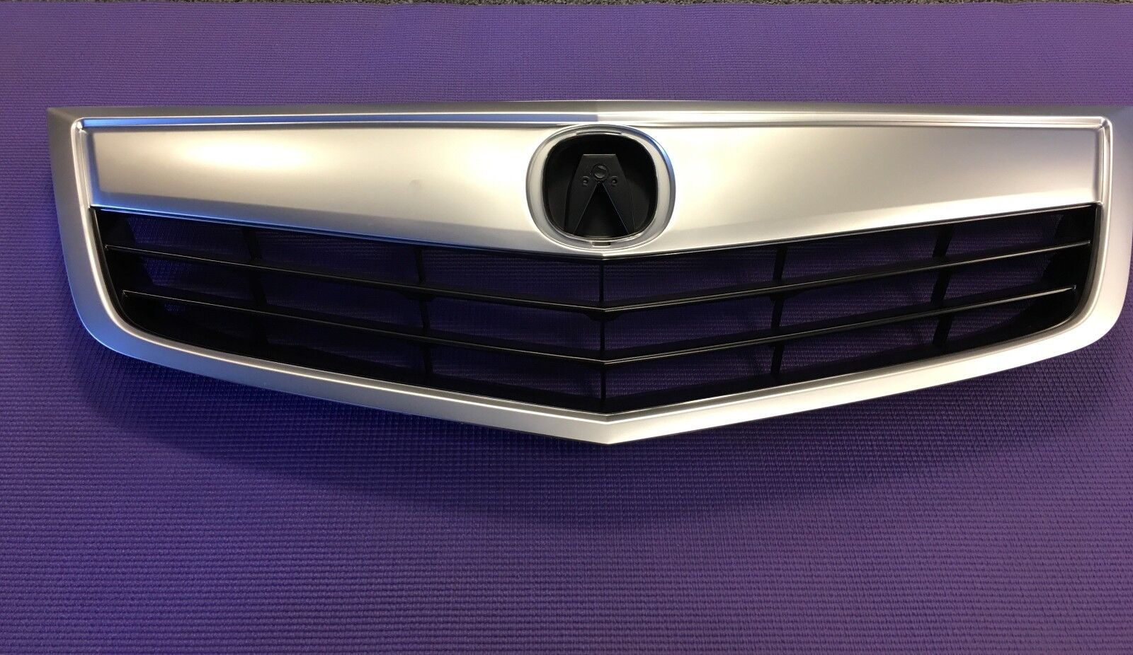 BRAND NEW ACURA TSX Grille Grill Satin Finished Molding - Acura tsx grill
