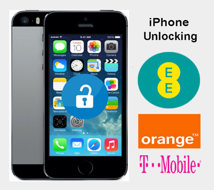 PERMANENT FACTORY UNLOCKING Service iPhone 5 5S 5C SE For ...