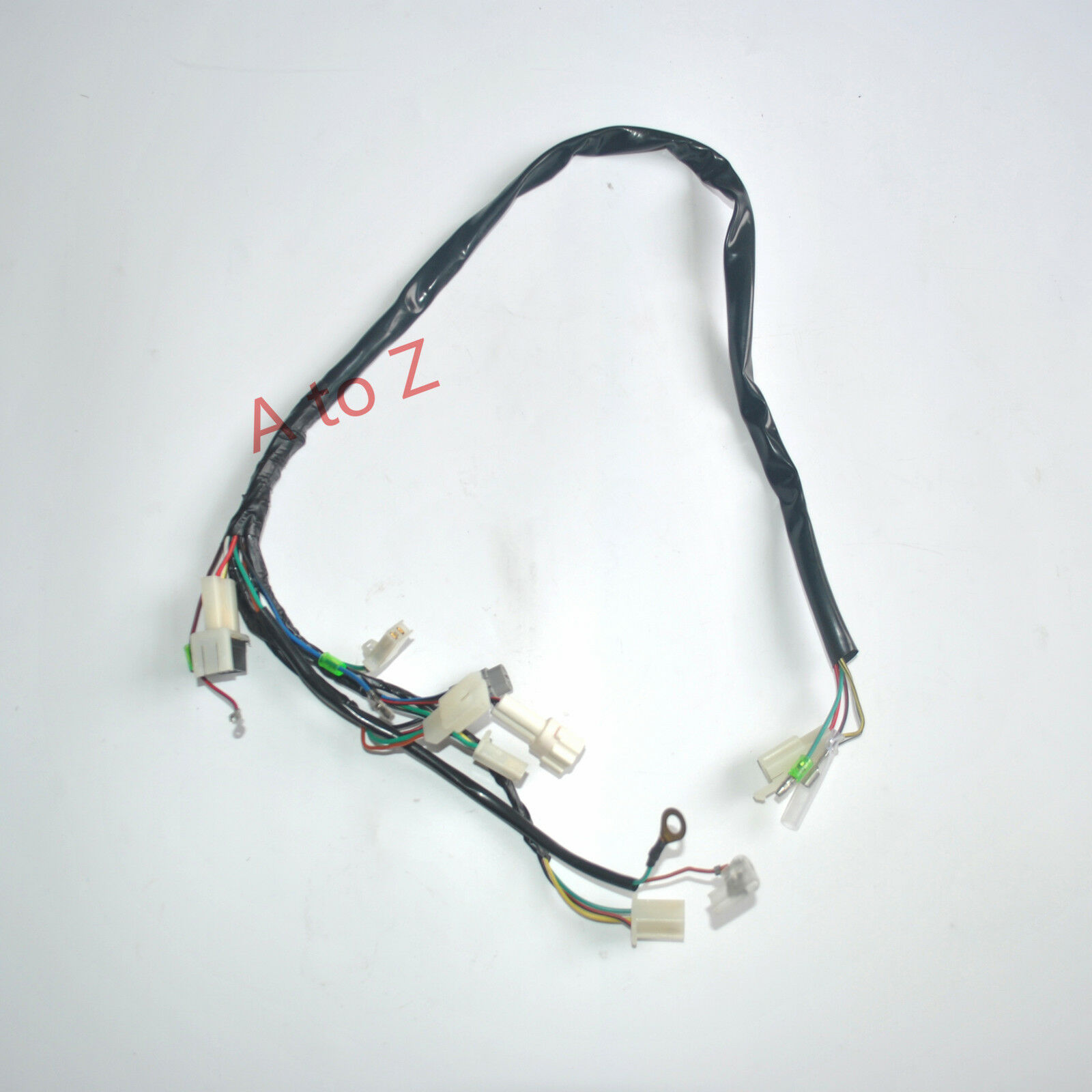 Wire Wiring Harness Assembly For Yamaha Pw50 Pw 50 Peewee Pit Bike 1 Of 4only Available