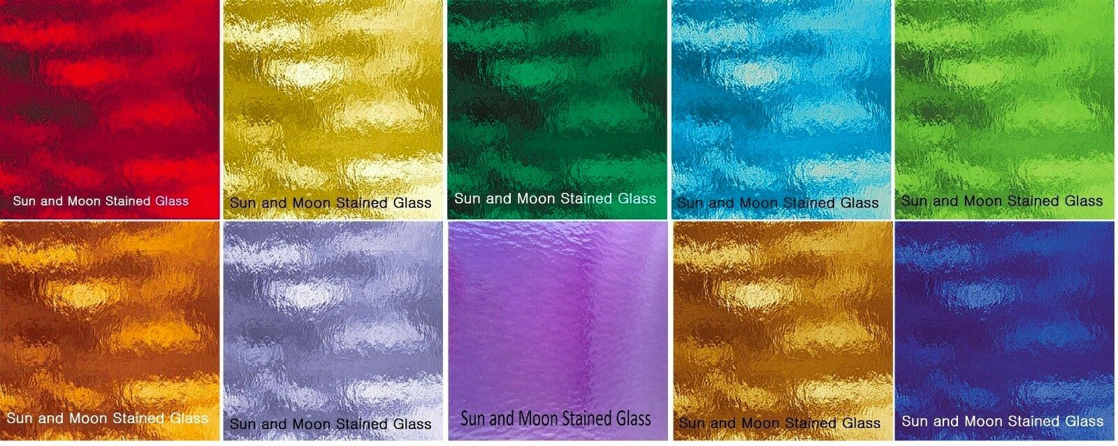 8x10 spectrum rough rolled glass pack stained glass sheets 10 - Colored Glass Sheets