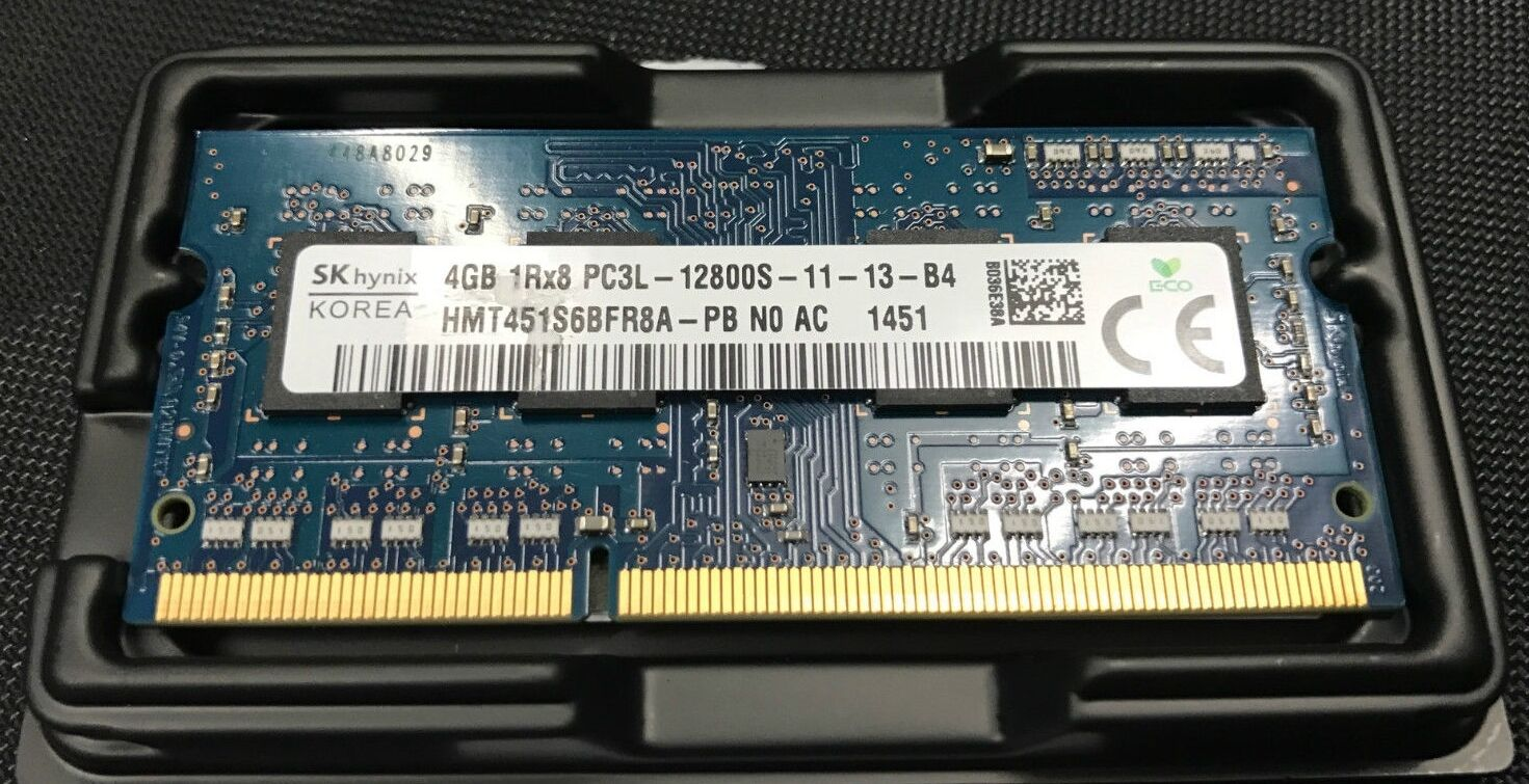 New Hynix 4gb 1 X Ddr3l 1600mhz Pc3 12800 Cl11 135v Sodimm Ram V Gen Ddr3 Pc 10600 Memory Notebook Laptop