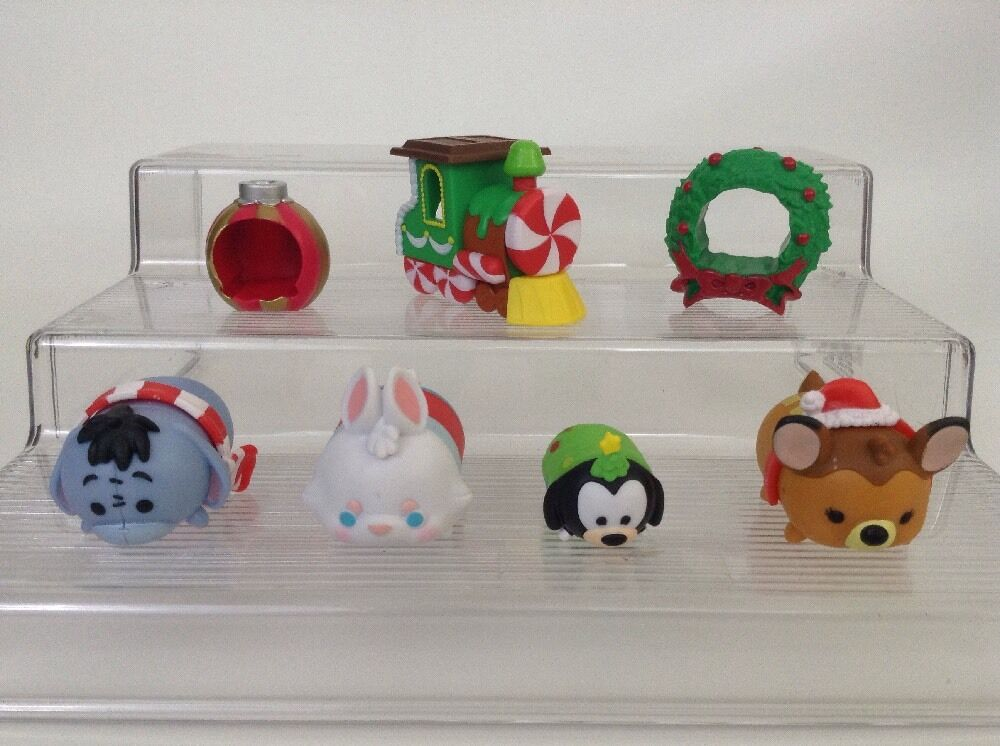 lot of 4 disney tsum tsum holiday themed figures w. Black Bedroom Furniture Sets. Home Design Ideas