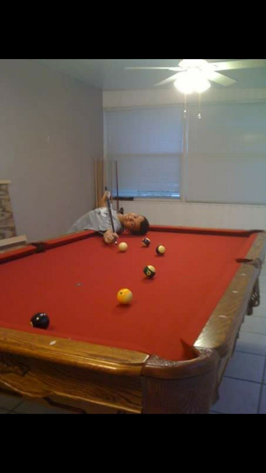 CUSTOM POOL TABLE PicClick - Buckhorn pool table