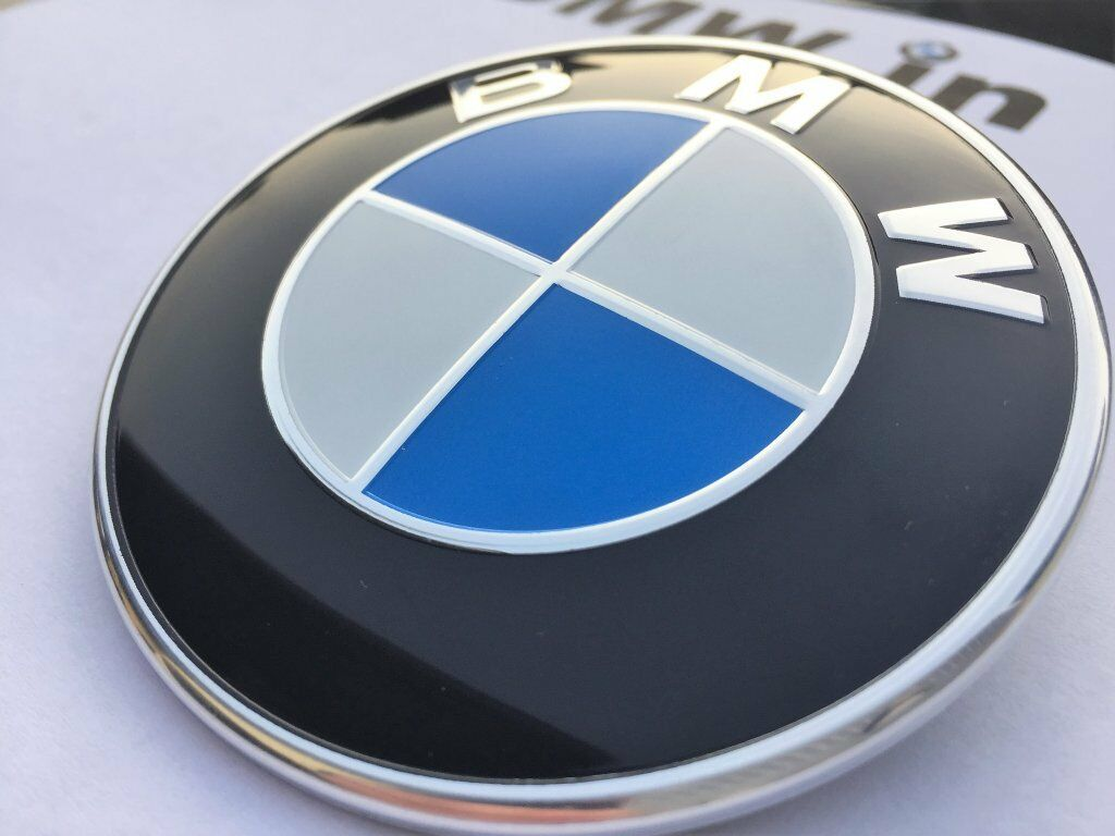 Bmw 1 3 5 7 Z3 Z4 X1 3 5 E30 36 46 Series Badge Emblem Logo Bonnet Front 82mm 163 104 95