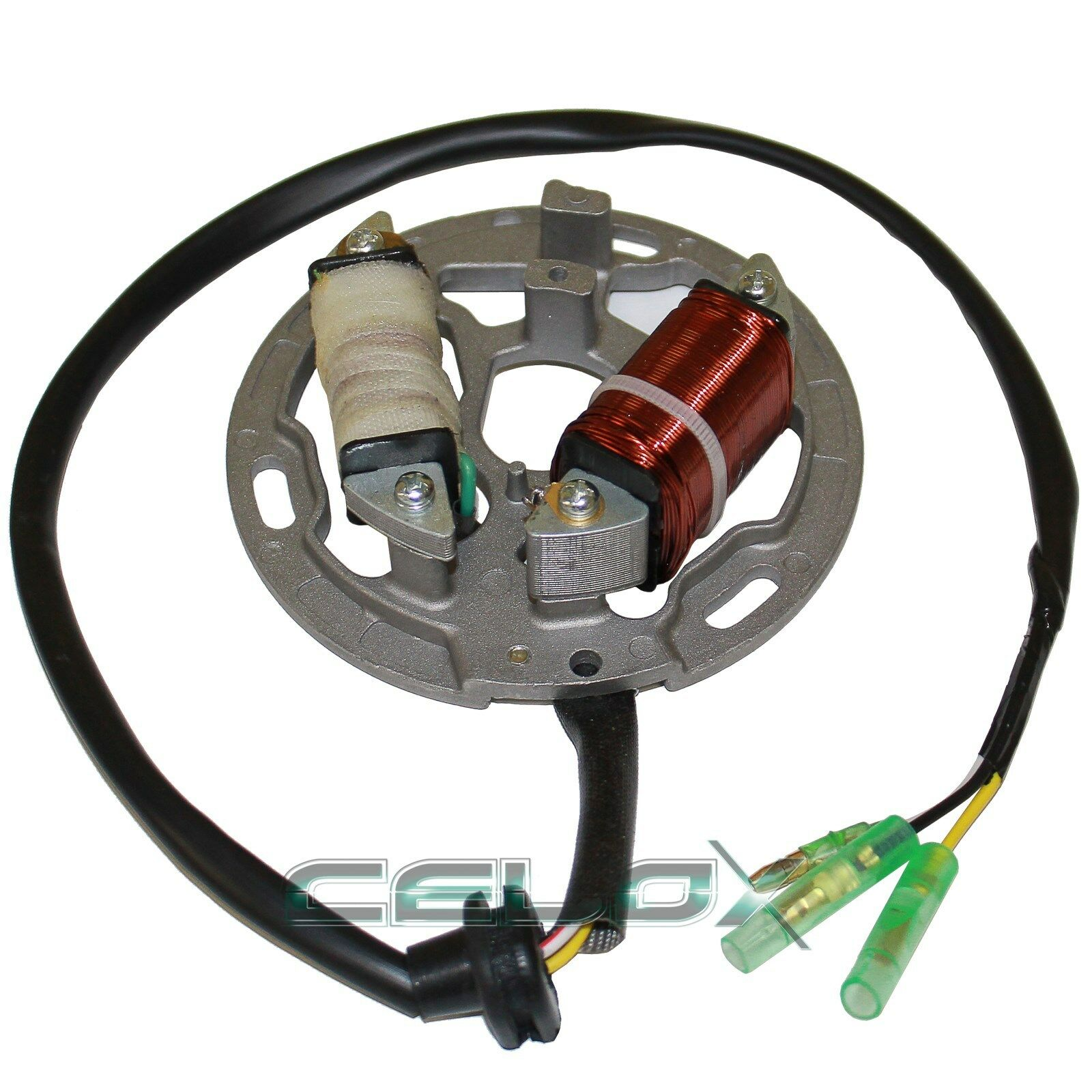 Stator Fits Kawasaki Kdx200 Kdx 200 1989 1990 1991 1992 1993 1994 Wiring 1 Of 1only 0 Available