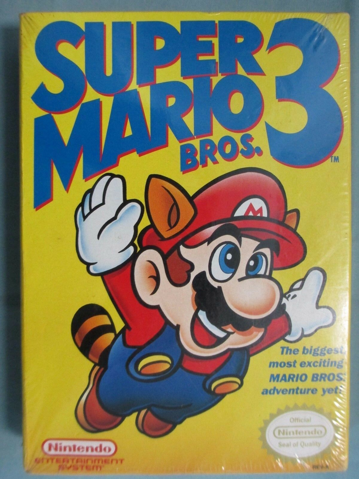 Super Mario Bros. 3 (Nintendo Entertainment System, 1990 ...