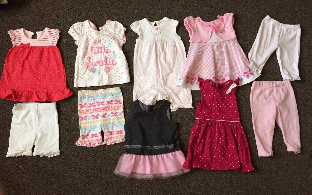Baby Girl Clothes 6 9 Months Summer Bundle Play Suit Dress