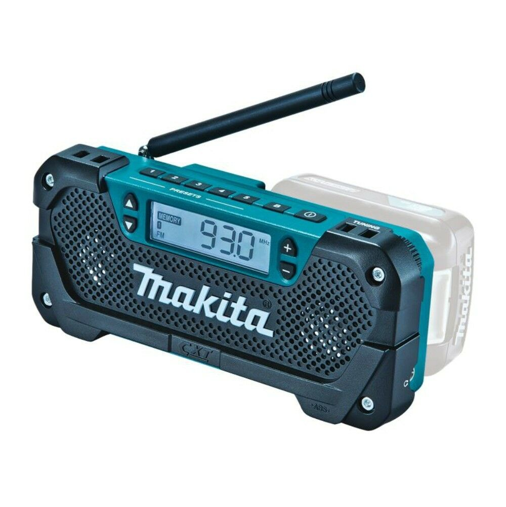 makita 12v max radio portable cordless mobile skin only picclick au. Black Bedroom Furniture Sets. Home Design Ideas