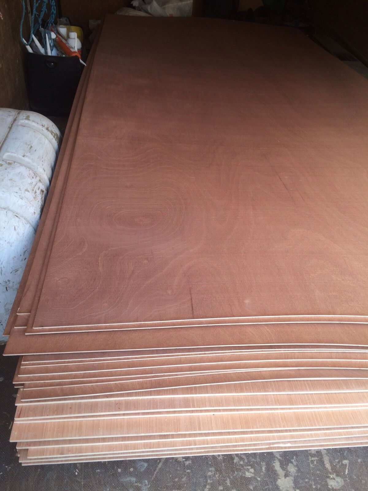 8 X 4 Plywood Sheets 3 6 Mm Hardwood Faced Plywood