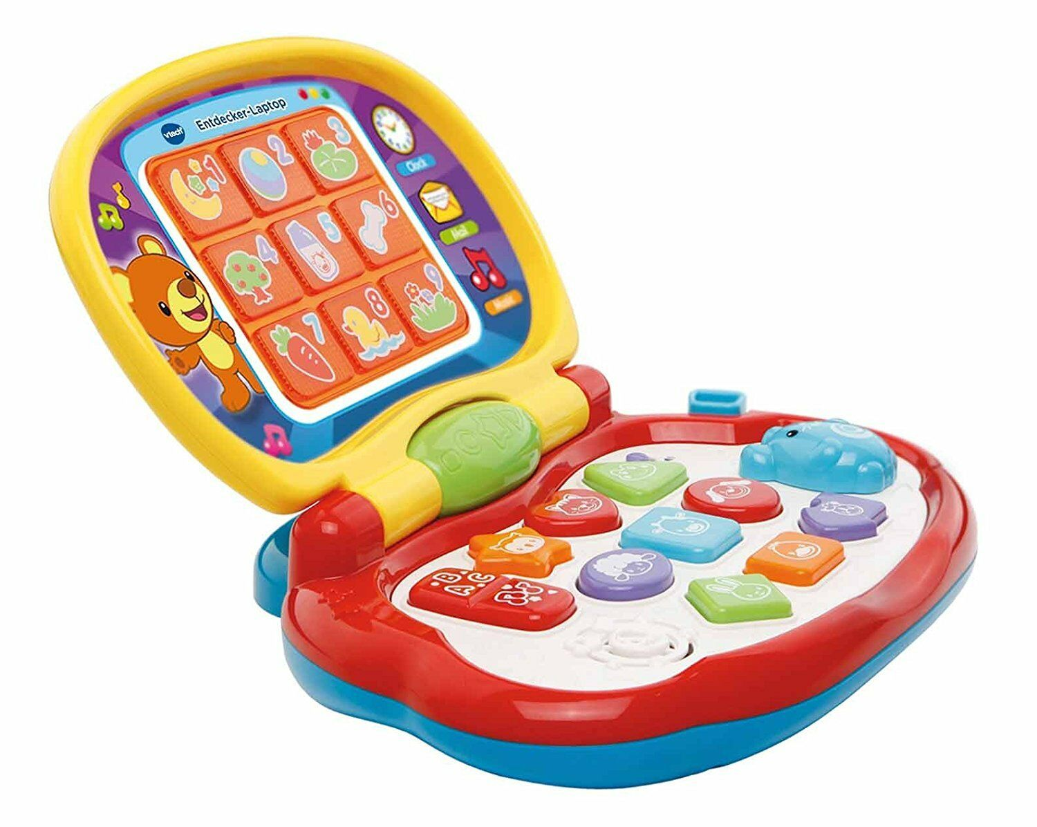 vtech baby entdecker laptop lernen spielen spa haben original kinder spielzeug eur 23 52. Black Bedroom Furniture Sets. Home Design Ideas