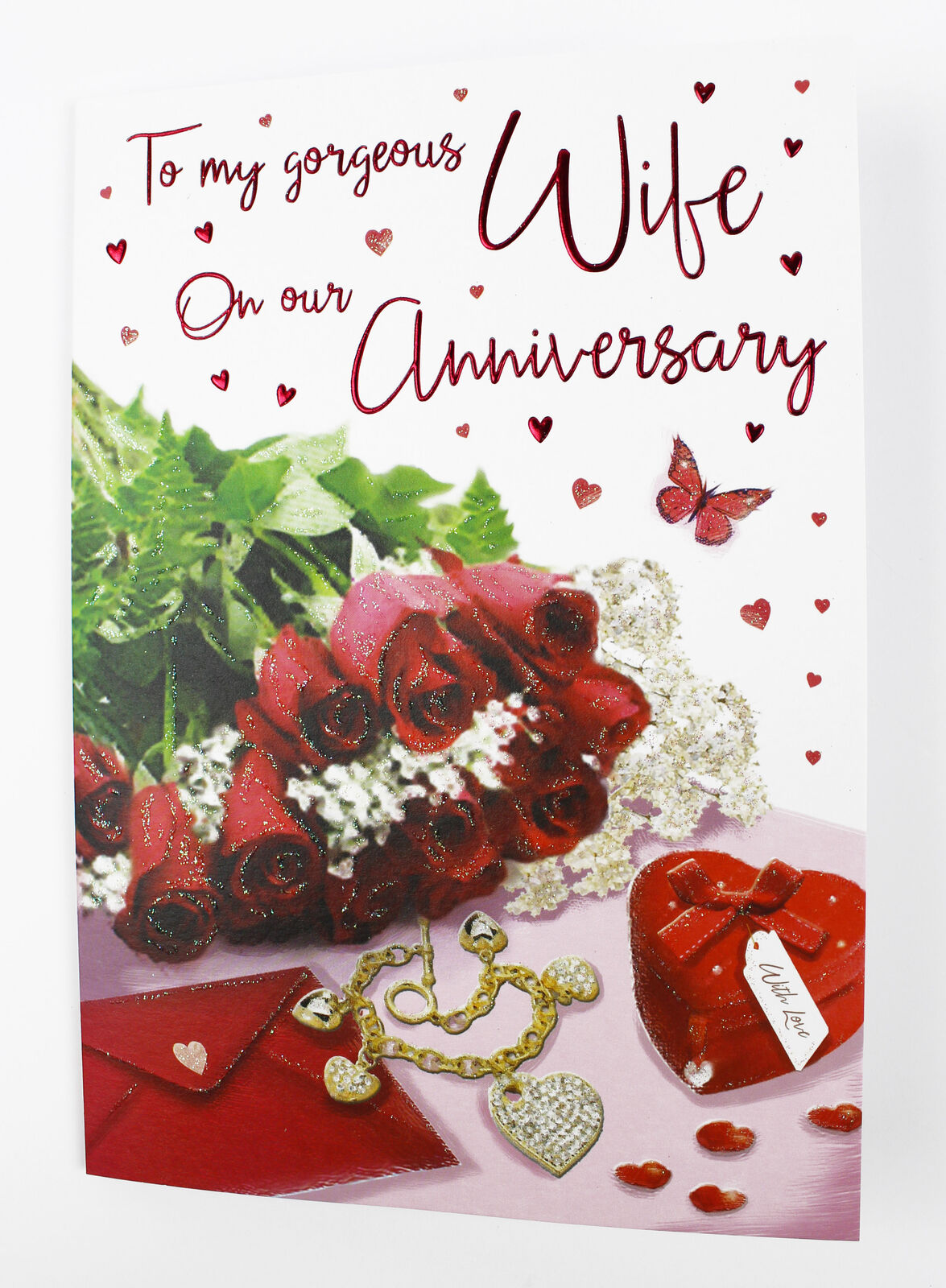 To My Wife Our Wedding Anniversary Greeting Card Envelope Seal