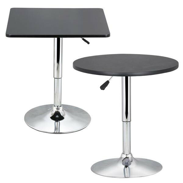 Modern swivel counter height table adjustable pub bistro bar cafe modern swivel counter height table adjustable pub bistro bar cafe tables indoor 1 of 11free shipping watchthetrailerfo