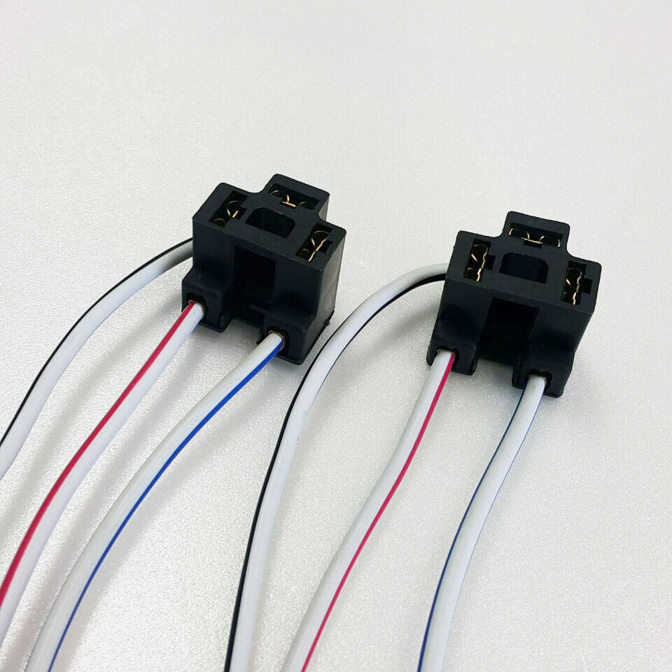 2x NEW H4 Female Headlight Wire Harness Connector Wiring plug socket 1 of  3FREE Shipping See More