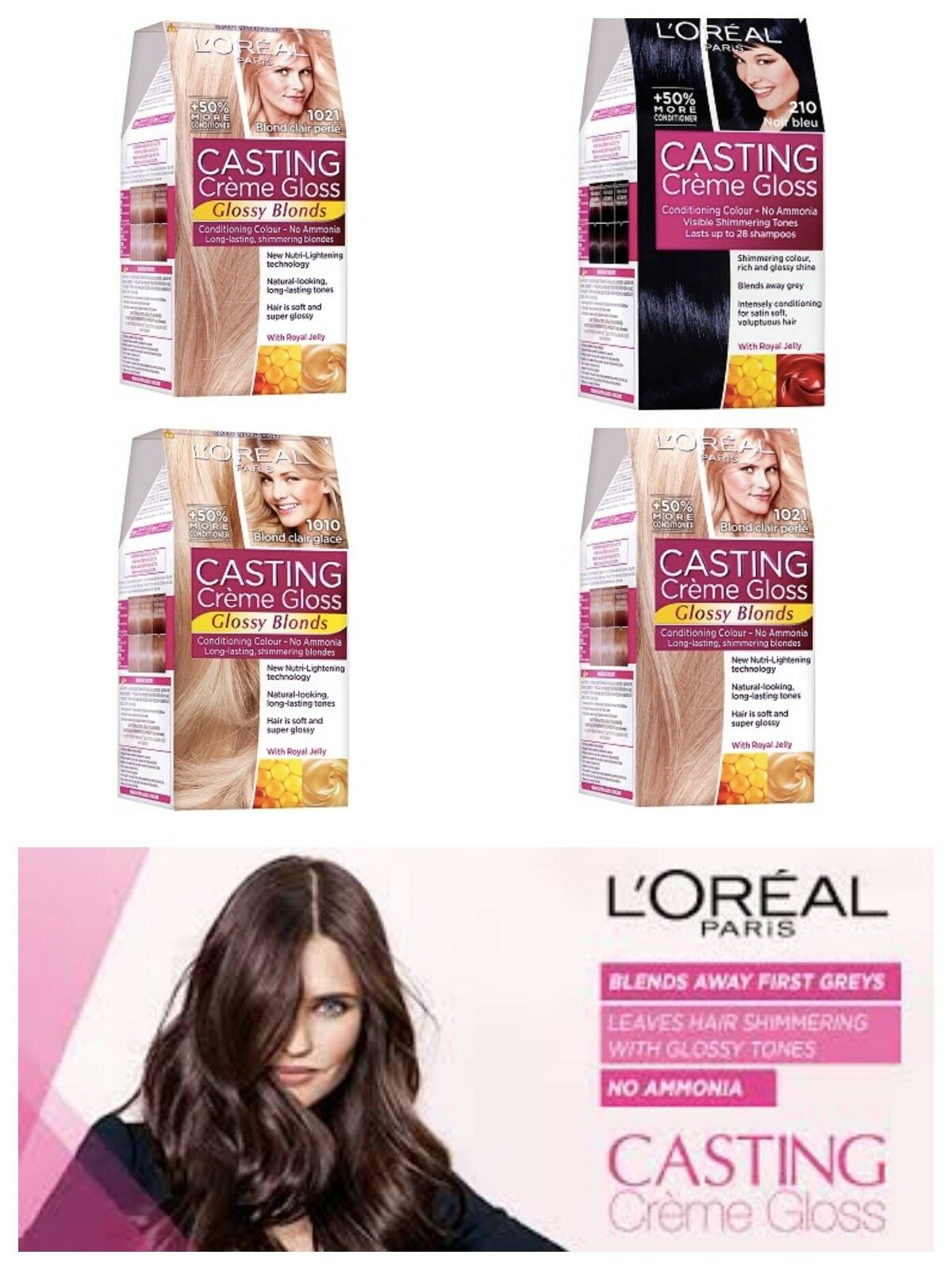 Loreal Paris Casting Creme Gloss Hair Color Free Delivery 1079