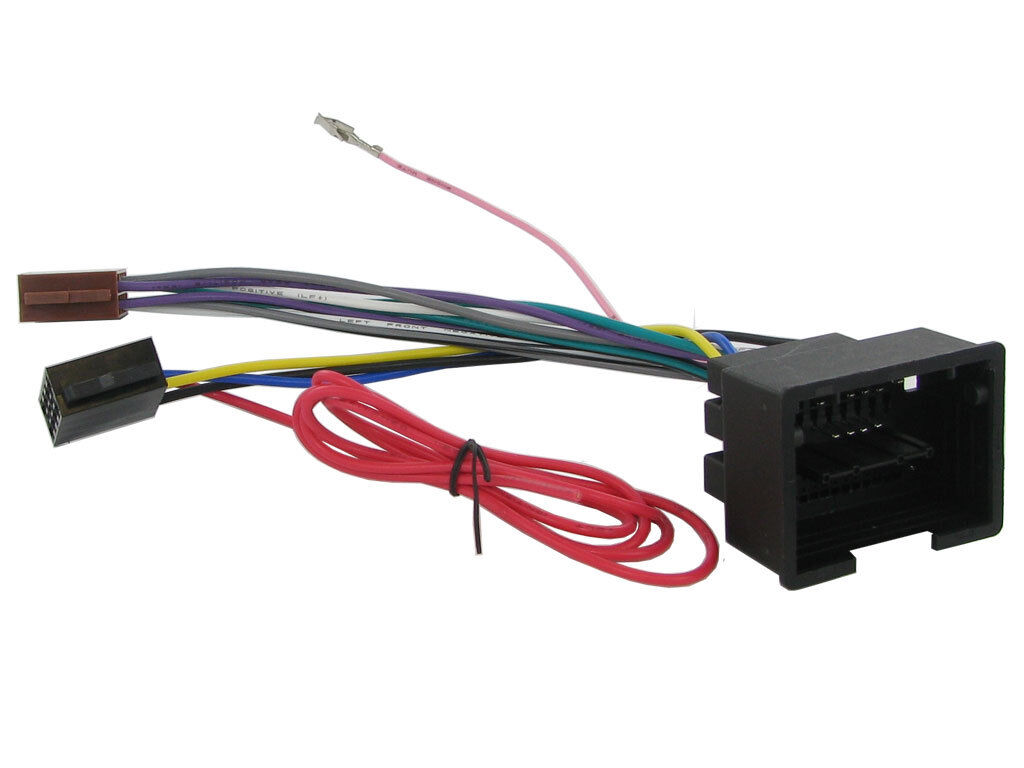 chevrolet spark cd radio stereo headunit iso wiring harness adaptor rh picclick com