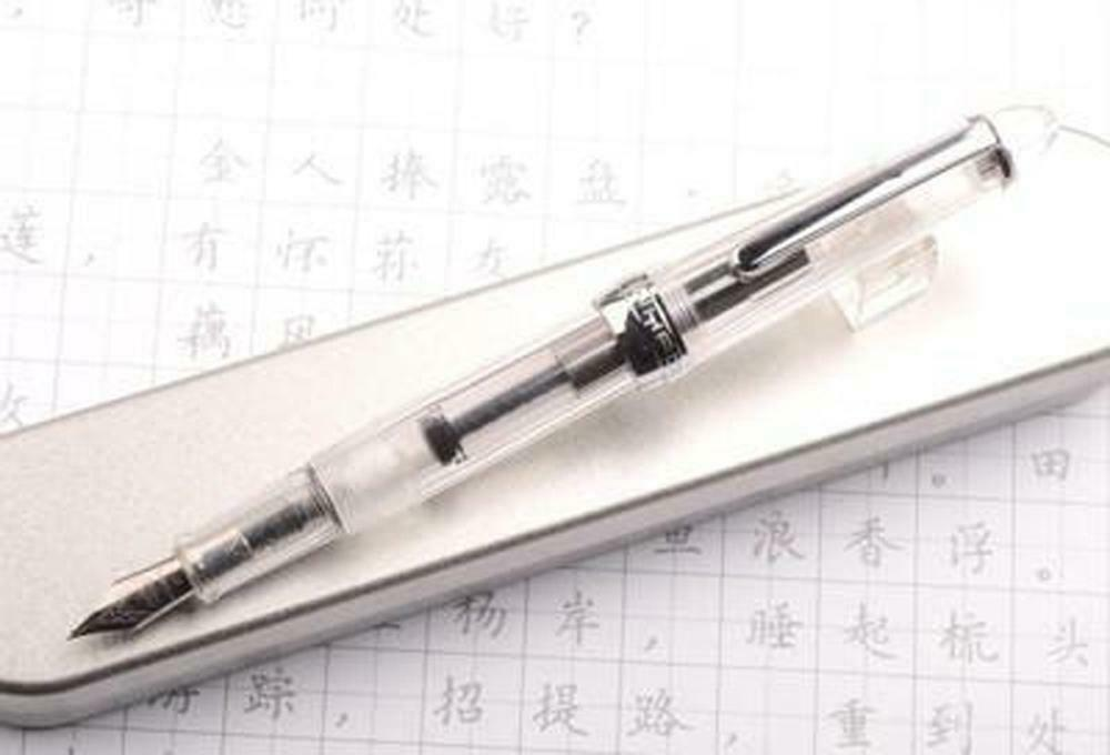 English Calligraphy Parallel Fountain Wide Nib Pen Gothic