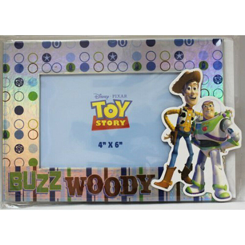 PHOTO HOLDER - Toy Story - Buzz Woody Disney Pixar 4x6 Picture Frame ...