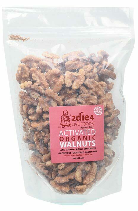 Activated Organic Walnuts 300g - 2DIE4 Live Foods