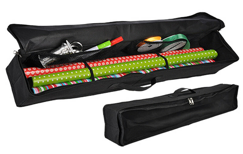 Gift Wrap Storage Bag Wrapping Paper Organiser Xmas Christmas Ribbon Tidy 1  Of 1Only 0 Available ...