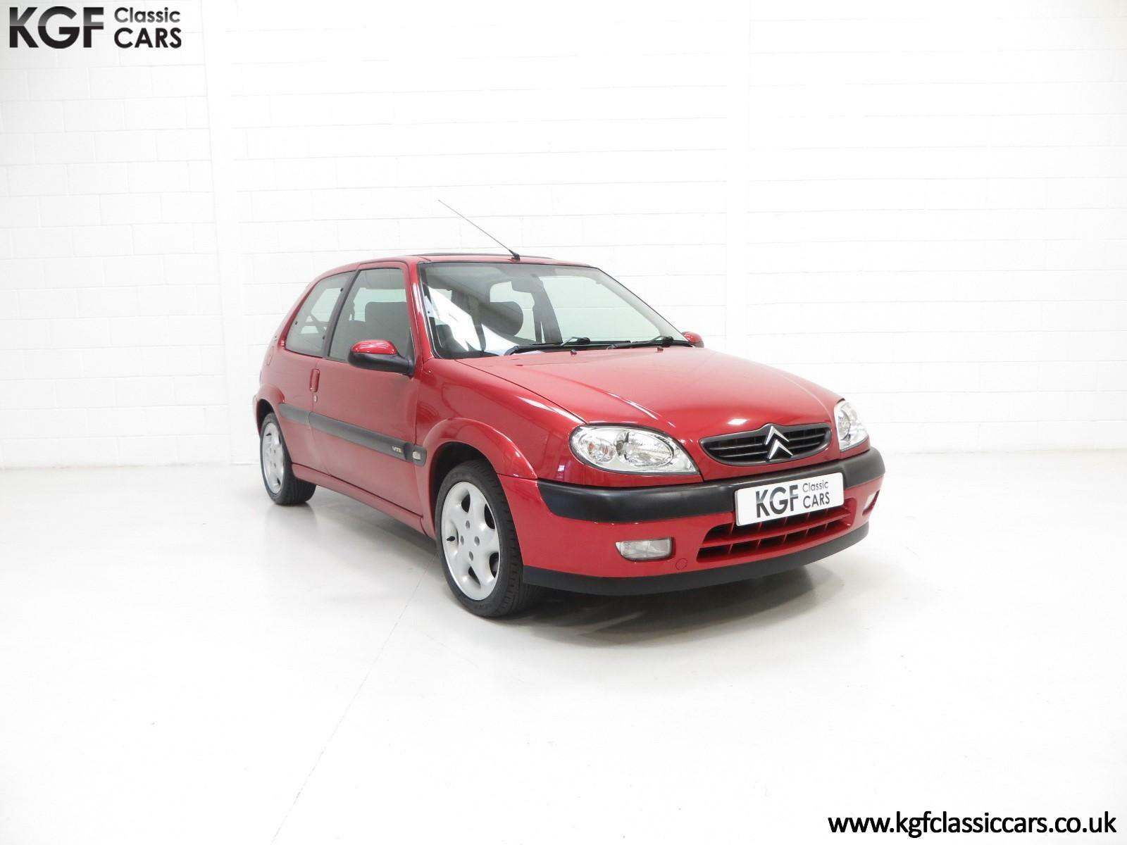an exceptional unmodified citroen saxo vts 52971 miles and full citroen history 4. Black Bedroom Furniture Sets. Home Design Ideas