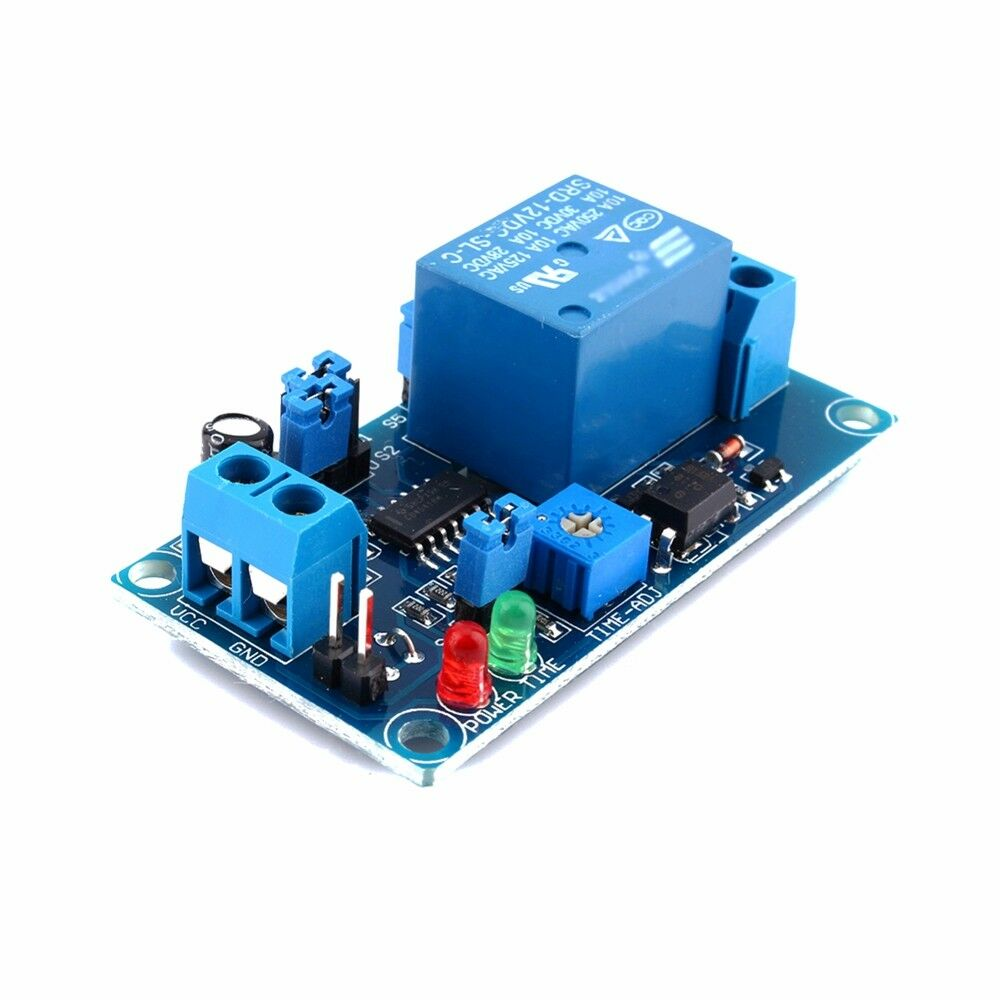 12v Power Delay Relay Timer Switch Circuit Module Better Than Toggle Using A 555 Ne555 Chip 1 Of 6free Shipping See More