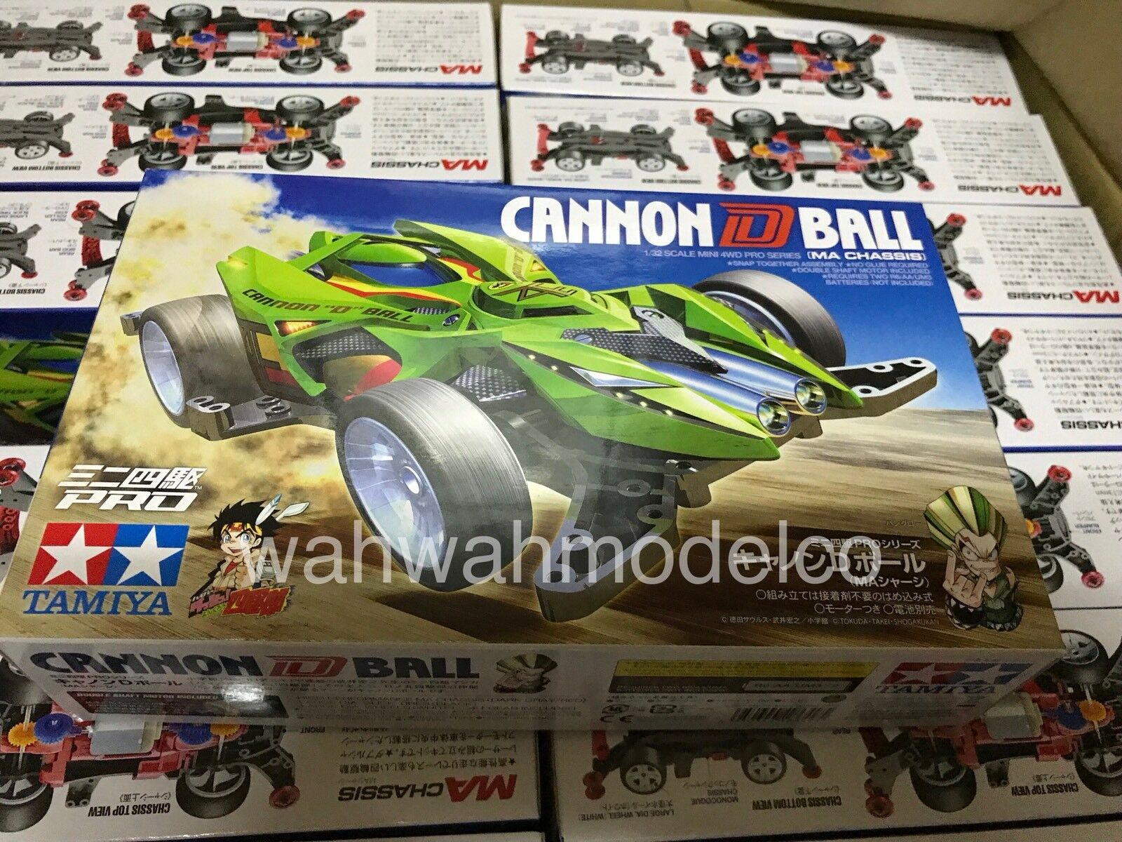 Tamiya 18649 1 32 Mini 4wd Cannon D Ball Ma Chassis Kit 1329 Basic Tune Up Parts Set For Ar Of 2 See More