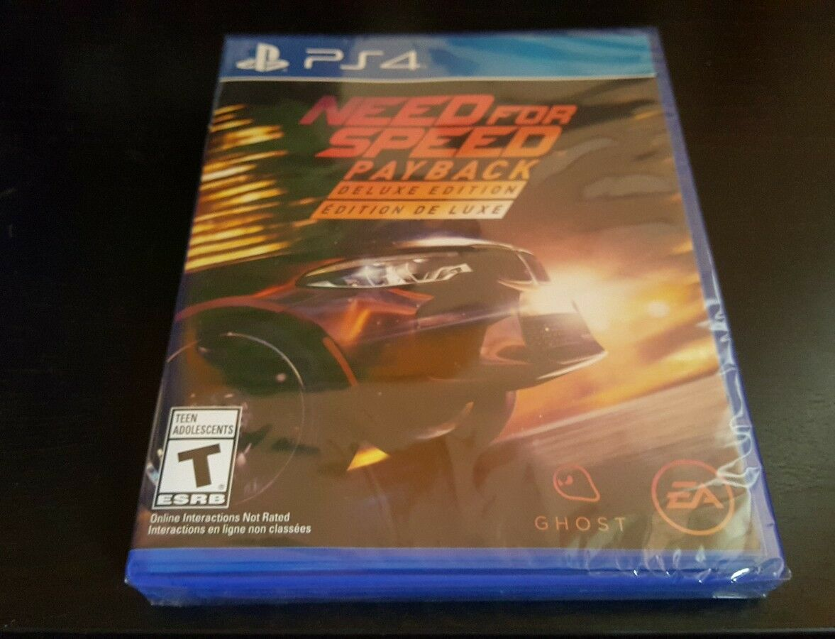 need for speed payback deluxe edition playstation 4 ps4. Black Bedroom Furniture Sets. Home Design Ideas