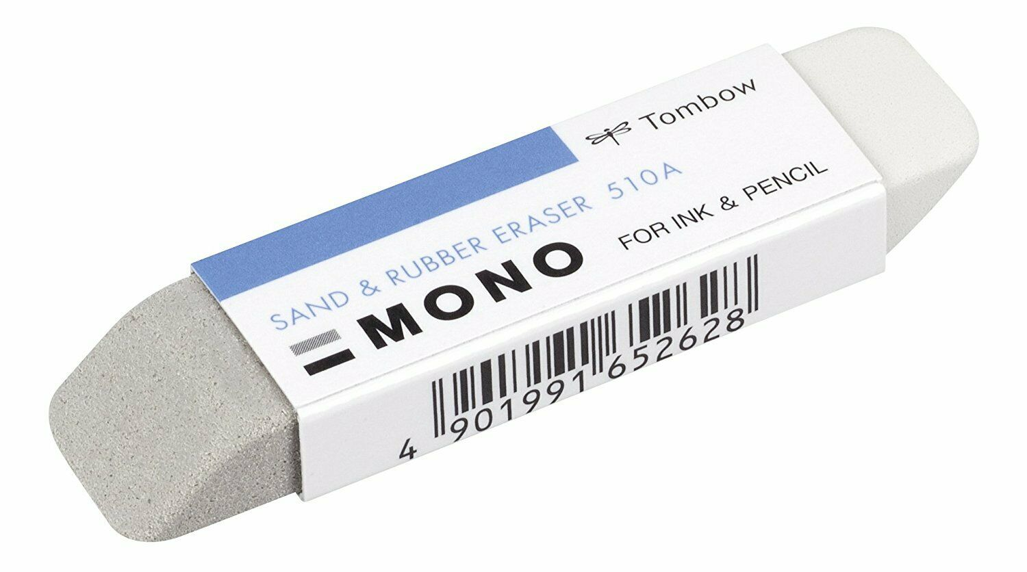 Tombow ES-512A MONO Sand Eraser For Ink natural rubber latex /& silica grit