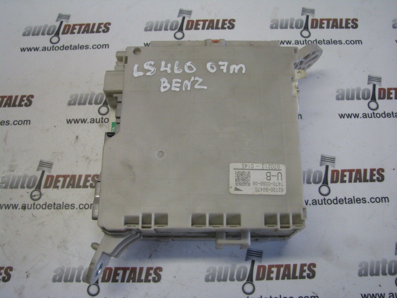 Lexus LS460 drivers junction fuse box 82730-50470 used 2007 LHD 1 of 5 See  More