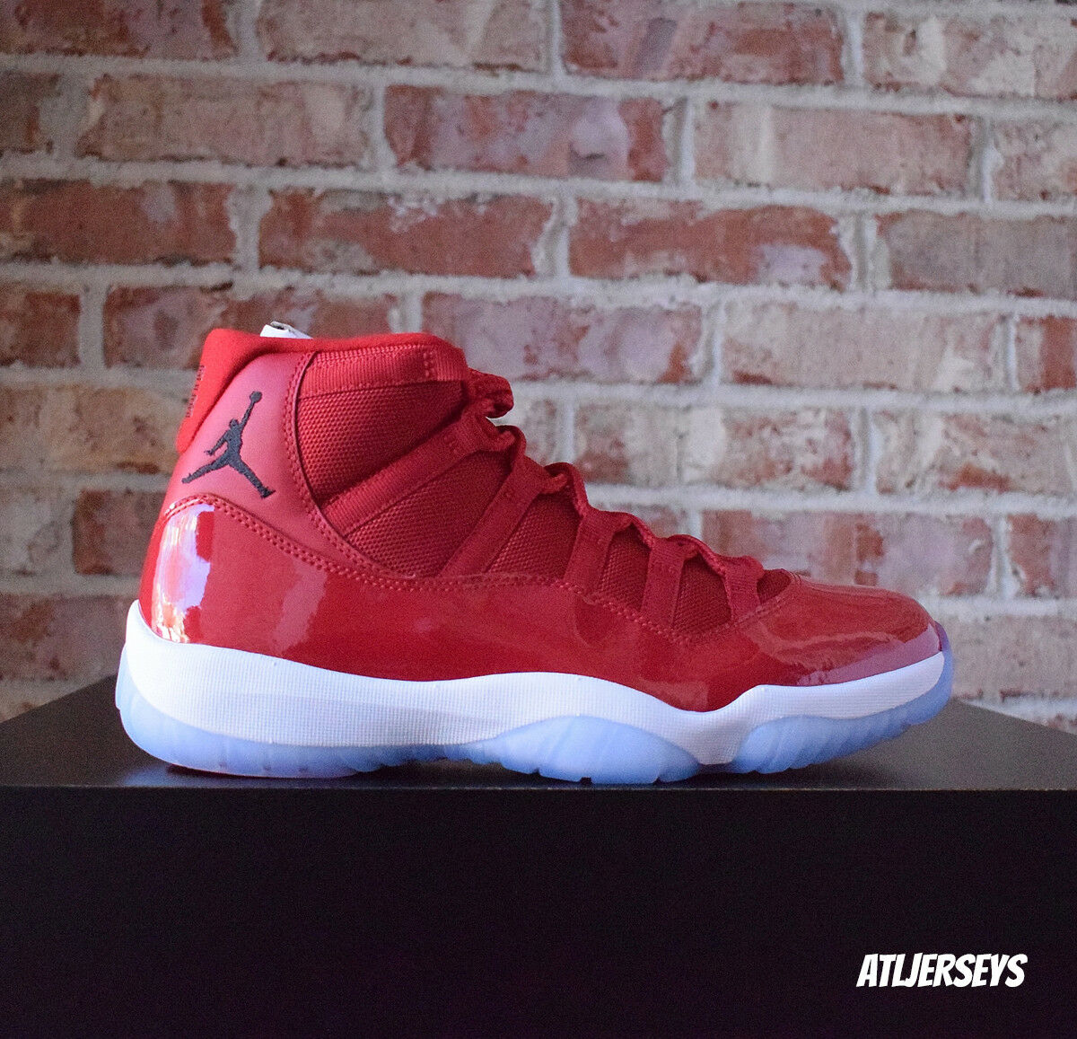 f55efbe2b09a75 2017 Nike Air Jordan 11 XI Retro Win Like 96 Gym Red 378037-623 Size 4Y-13  1 of 12Only 0 available ...