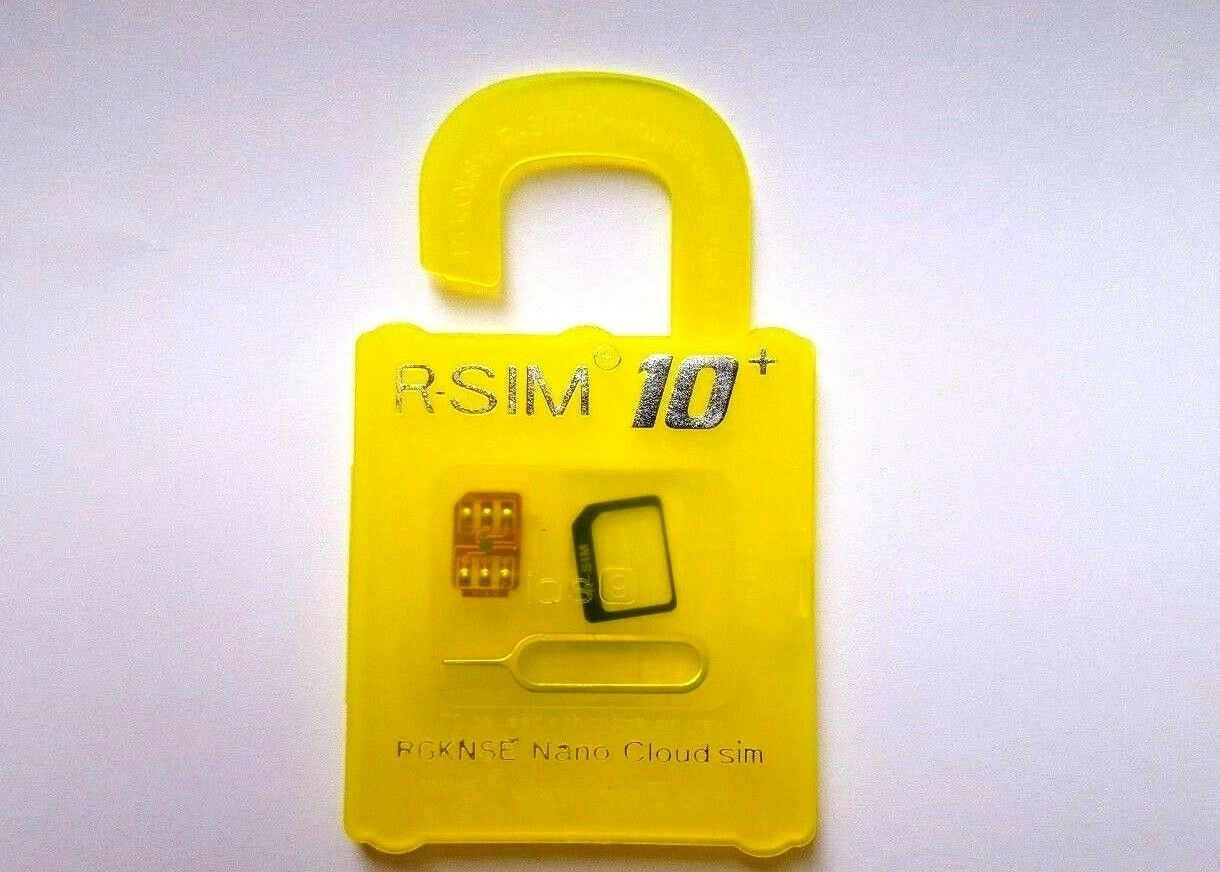R Sim 10 Unlock And Activation Card For Iphone With Retail Rsim Update Dongle Packaging 1 Of 6free Shipping
