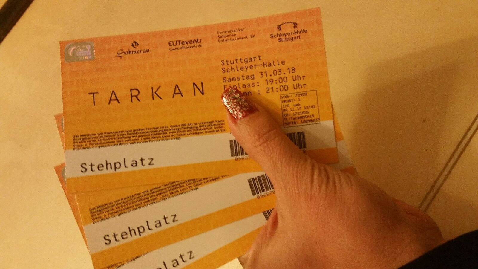 tarkan konzert karten tickets stuttgart noch 6. Black Bedroom Furniture Sets. Home Design Ideas