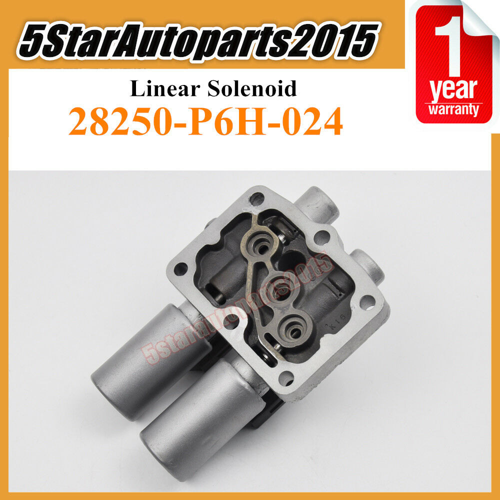 28250 P6h 024 Transmission Linear Solenoid For Honda Accord Odyssey 1 Of 5free Shipping