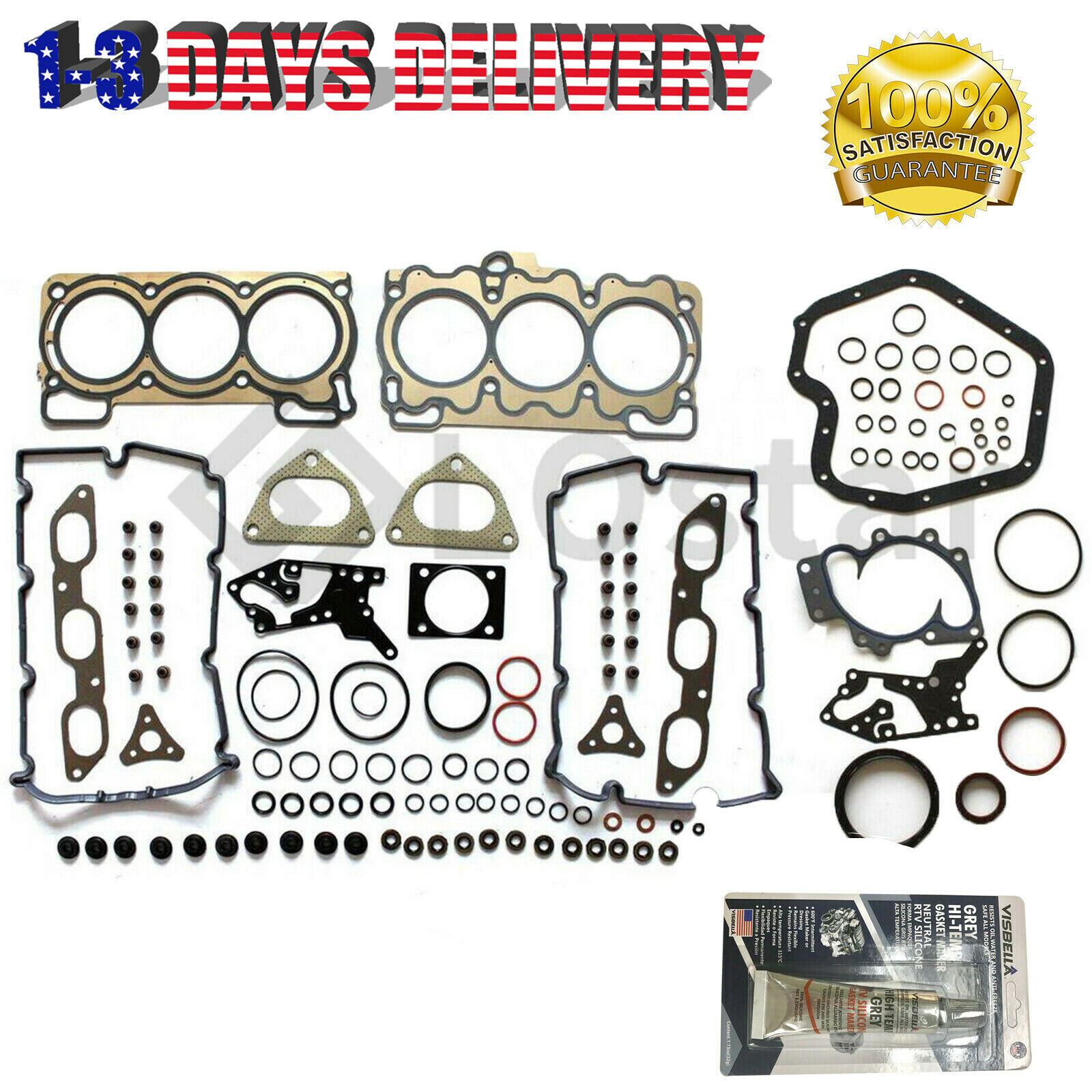 Cylinder Head Gasket Set Fits 01 04 Subaru Outback 30l H6 12999 1998 1 Of 7only Available