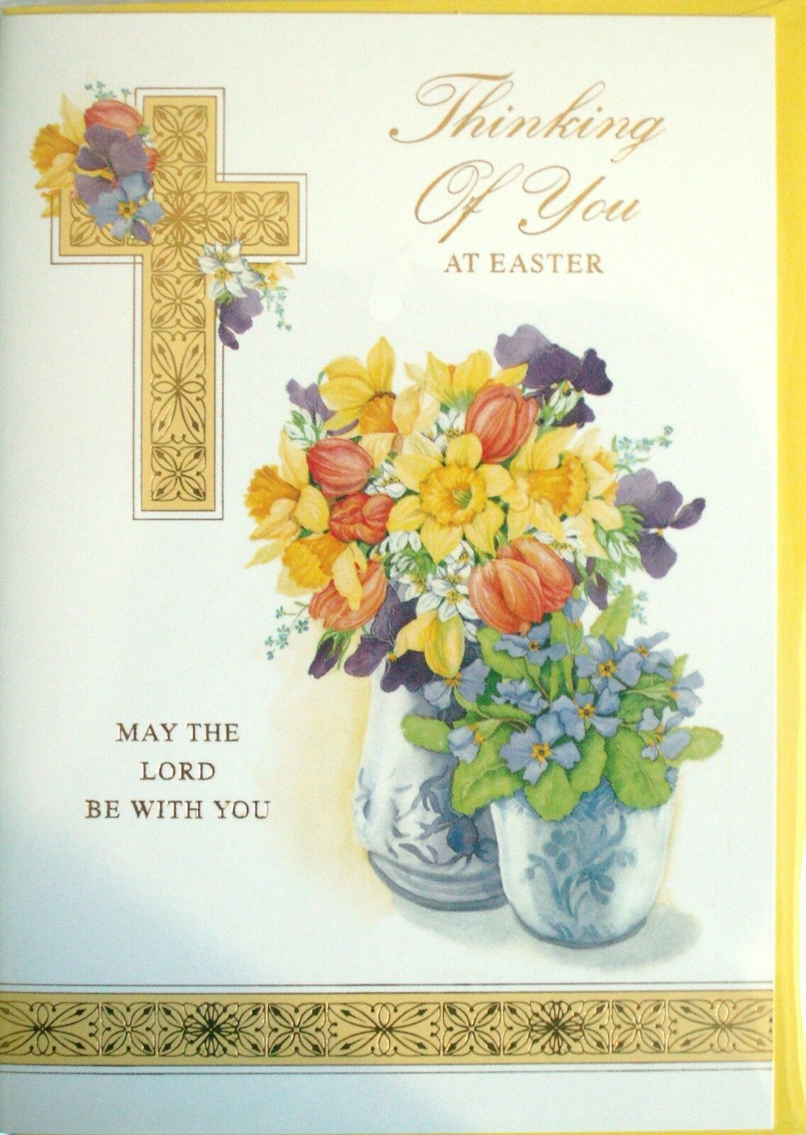 Thinking Of You At Easter Religious Theme Easter Card 199