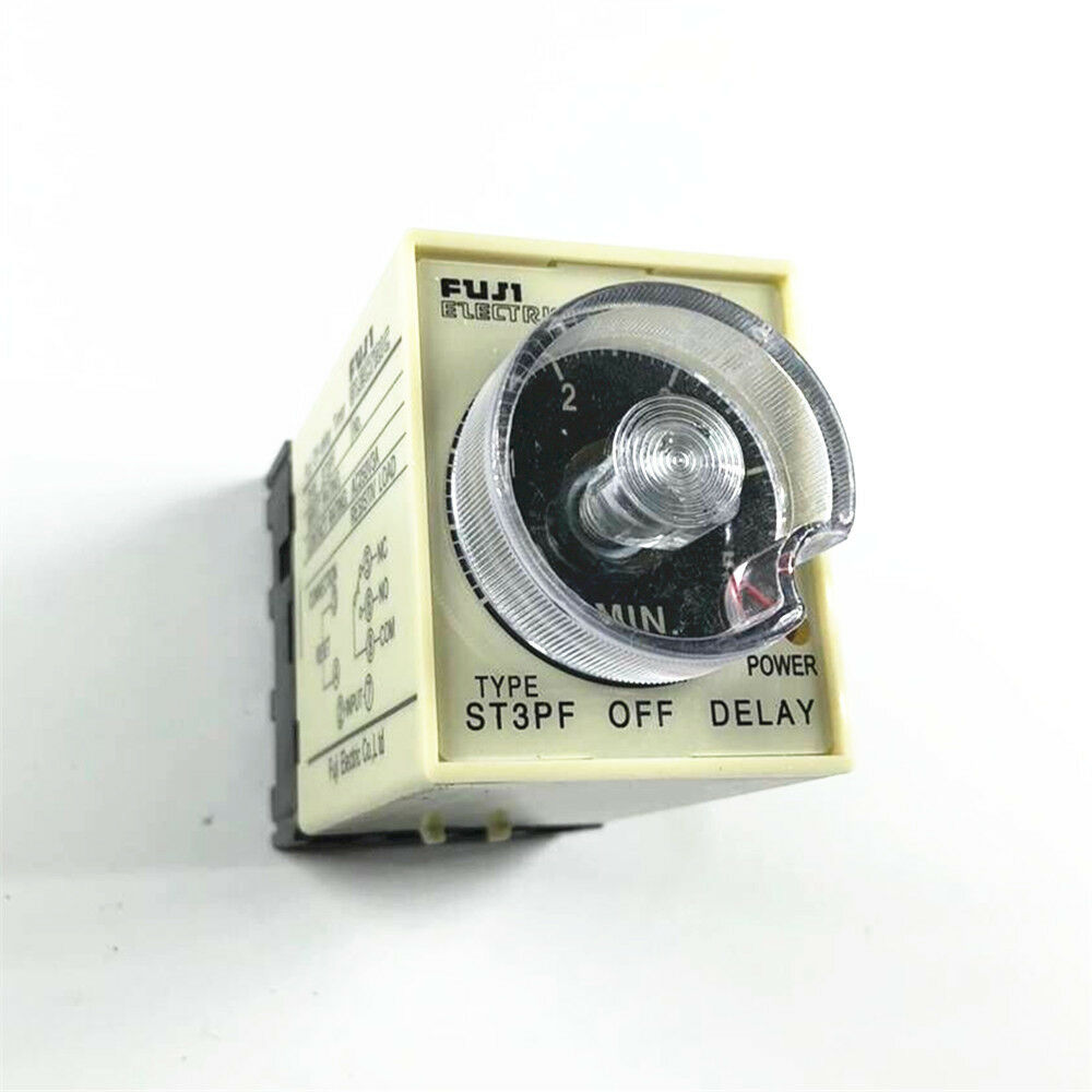 St3pf Power Off Delay Timer Time Relay 0 10 Minutes With Pf083a Base On 1 Of 6free Shipping