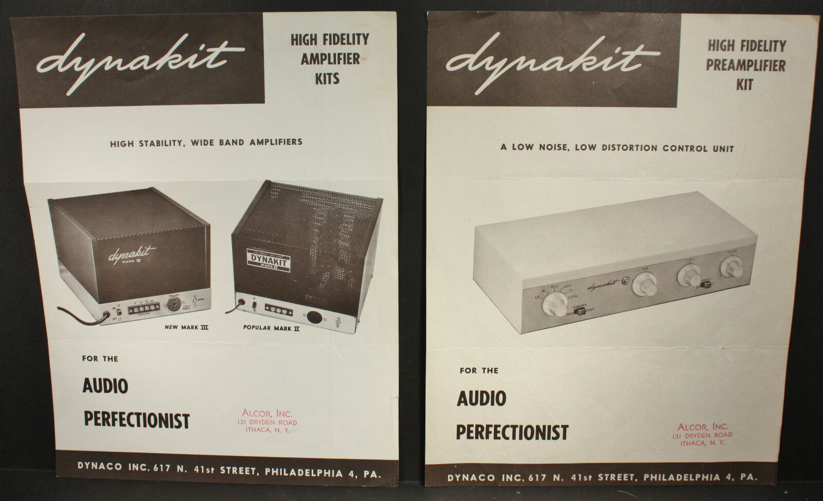 Dynakit High Fi Mark Ii Iii Amplifier Preamp Kit Brochure Band 2 Preamplifier 1 Of 5only Available