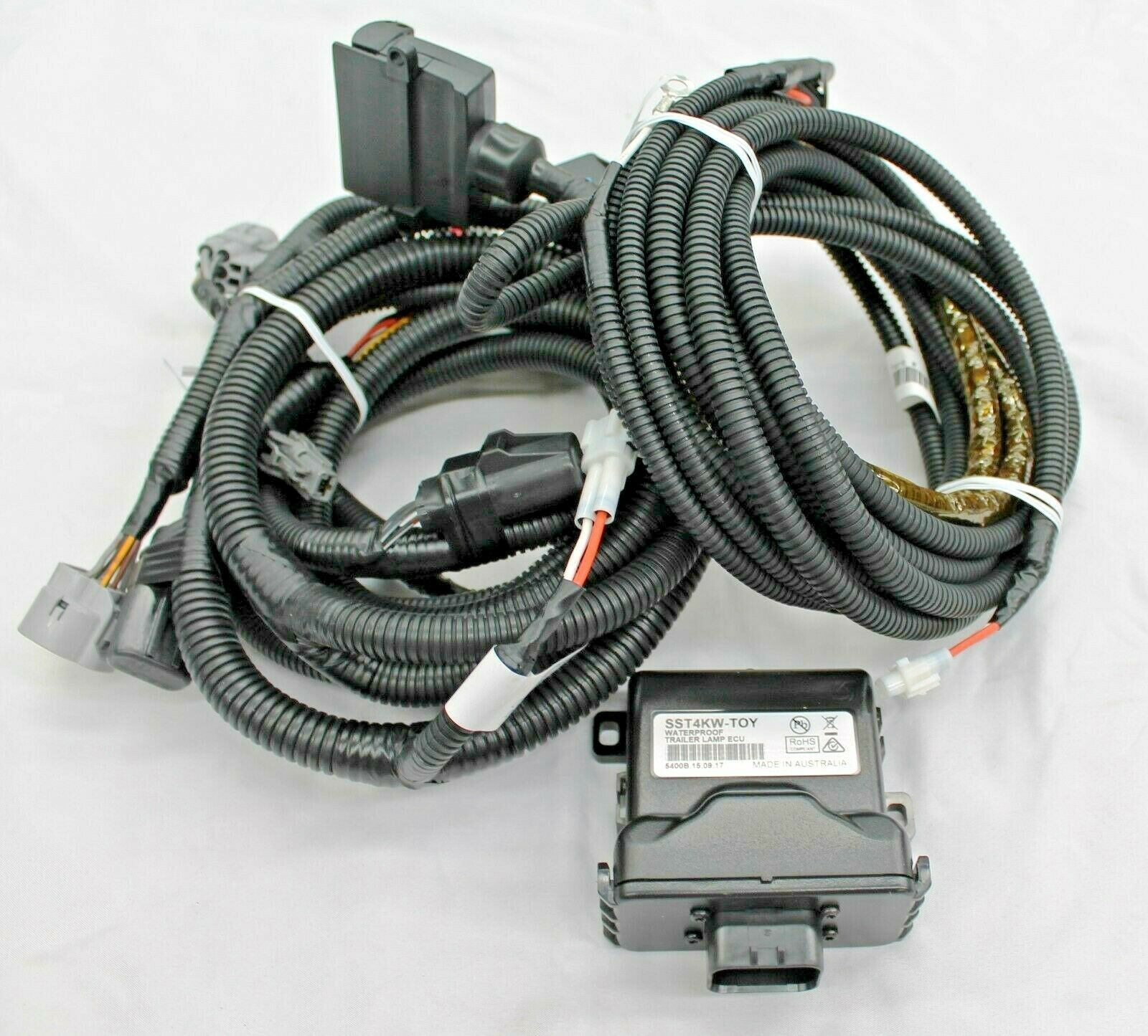 Toyota Hilux Towbar Wiring Harness 7 Flat 2wd From July 2015 New Wire 1 Of 5only 3 Available