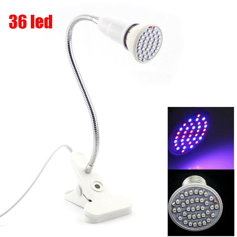 PLANT GROW LIGHT led Growth lamp Bulbs indoor greenhouse hydro For ...