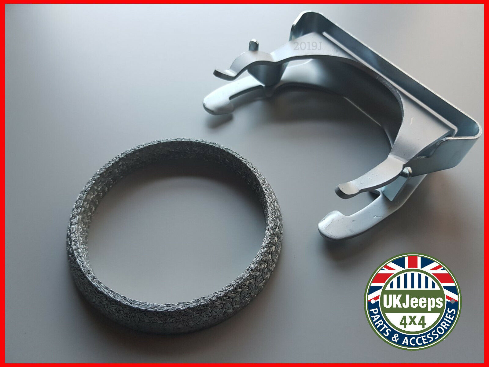 Jeep Grand Cherokee 27 Crd Exhaust Turbo Fitting Clamp Gasket Kit 1 Of 2free Shipping