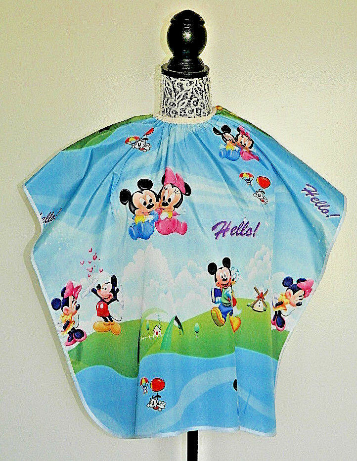 Hair Cutting And Styling Barber Salon Cape For Kids Children Disney
