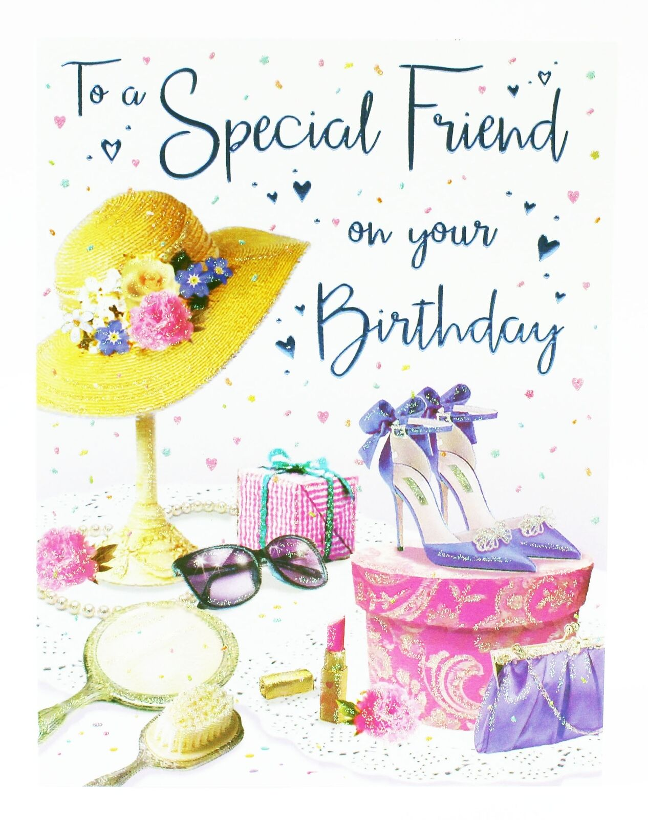 Happy birthday greeting card envelope seal for special friend happy birthday greeting card envelope seal for special friend ladies girly her 1 of 5only 3 available m4hsunfo