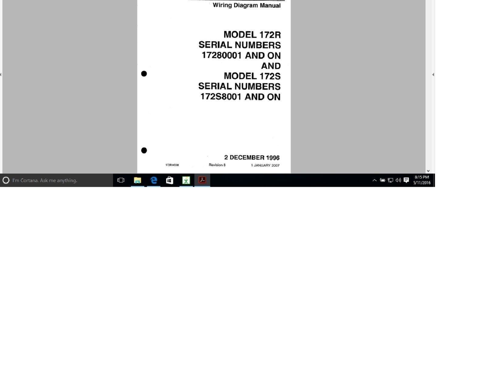 1967 Cessna 150 Wiring Diagram Schematic Diagrams Aircraft 172 Electrical Manual 172r 172s 172n