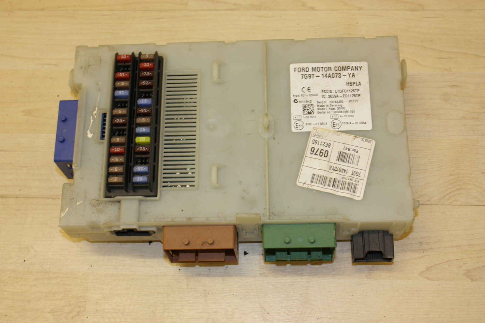 Ford Mondeo Mk4 20 Tdci Body Control Module Fuse Box Bcm 7g9t 555 1 Of 1free Shipping