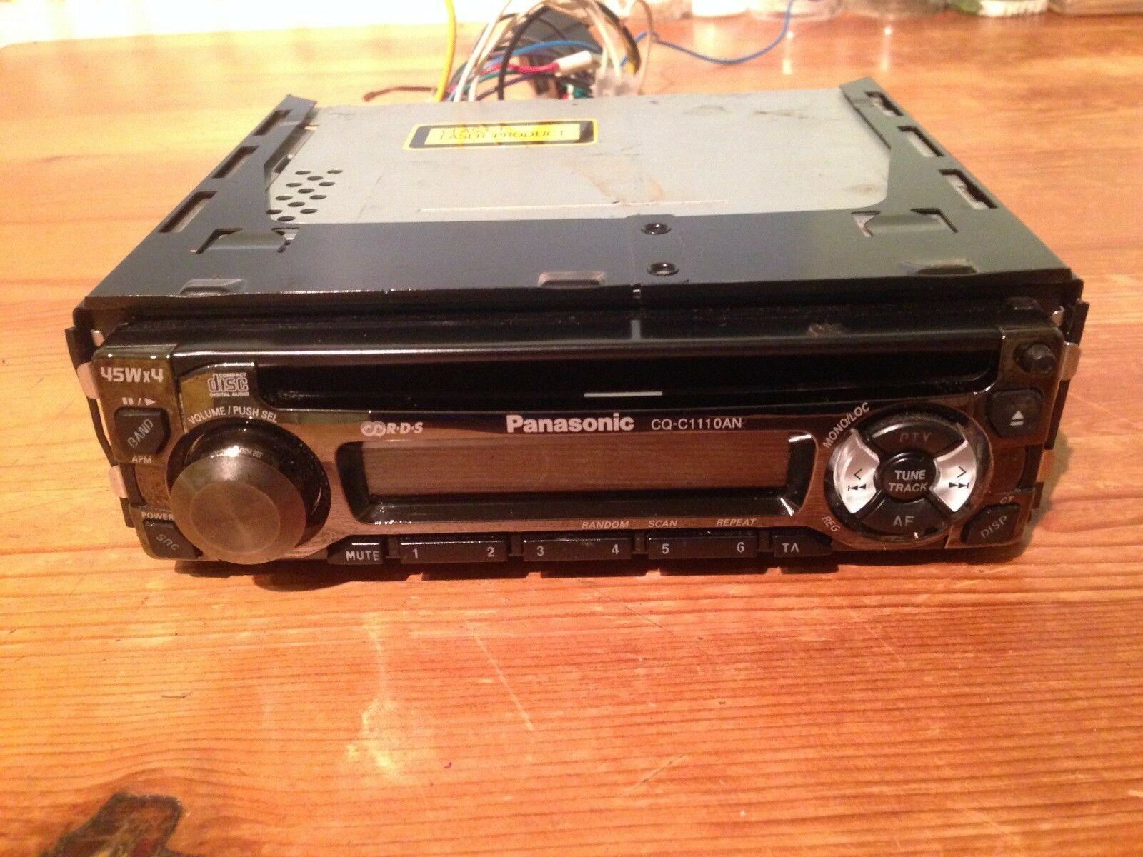 Panasonic Cq C1110an Car Stereo Cd Player 1999 Picclick Uk Wiring Harness Further 1 Of 5only Available See More