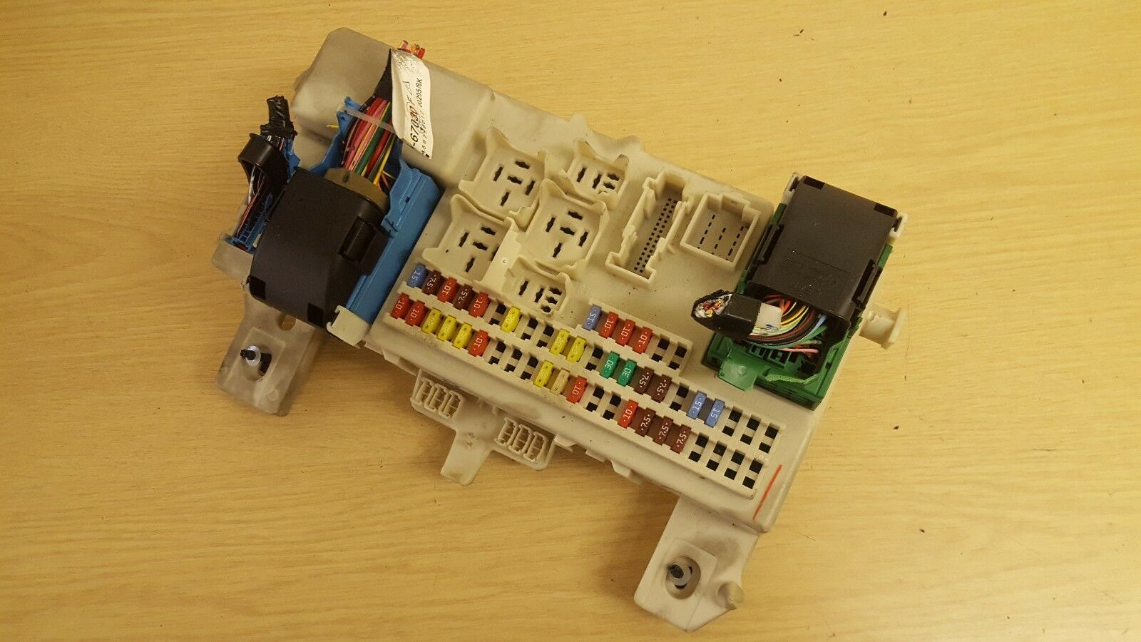 Mazda 3 Fuse Box Relay Comfort Control Module Unit Bcm Bs4h66730e 2005 Saab 9 2x 1 Of 3only Available